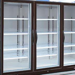 Changing the lighting in commercial fridges – EnergyCut