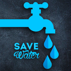 Step 9 - Save Water